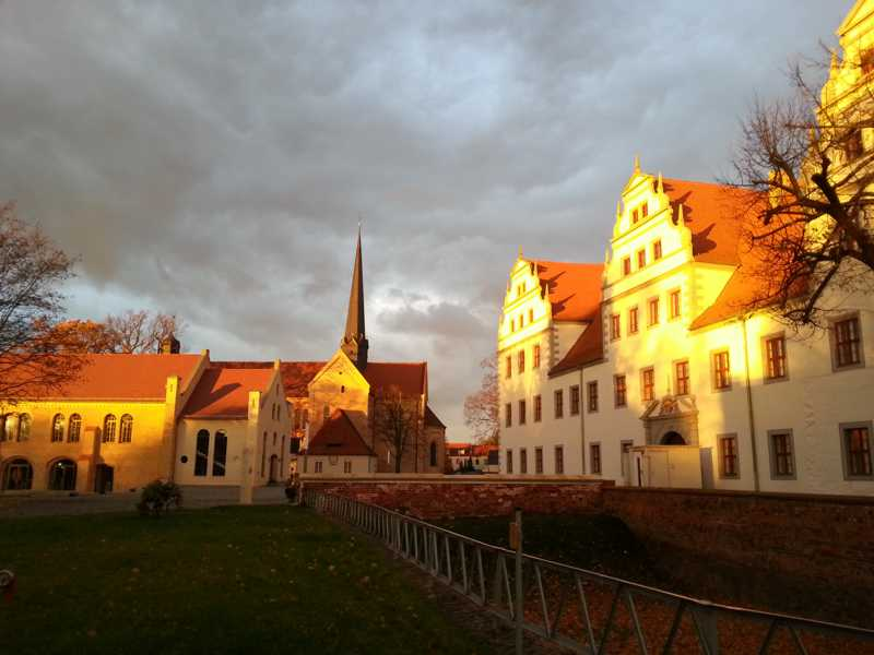 Abendstimmung Schloss & Klosterkirche Doberlug