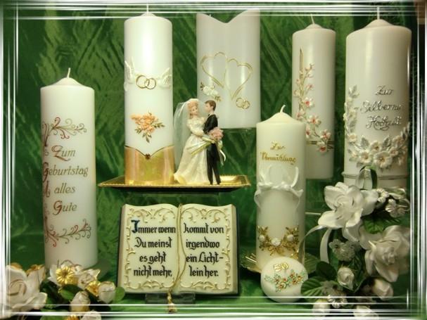 Kerzen und Zubeh�r f�r jeden festlichen Anlass